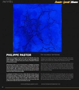 Philippe Pastor dans Art's Vice