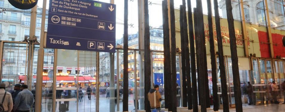 The Burned Trees at Paris Gare du N...