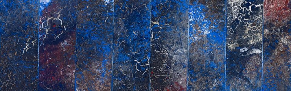"""Philippe Pastor, """"Bleu Monochrome"""" (14 032 BM)"""