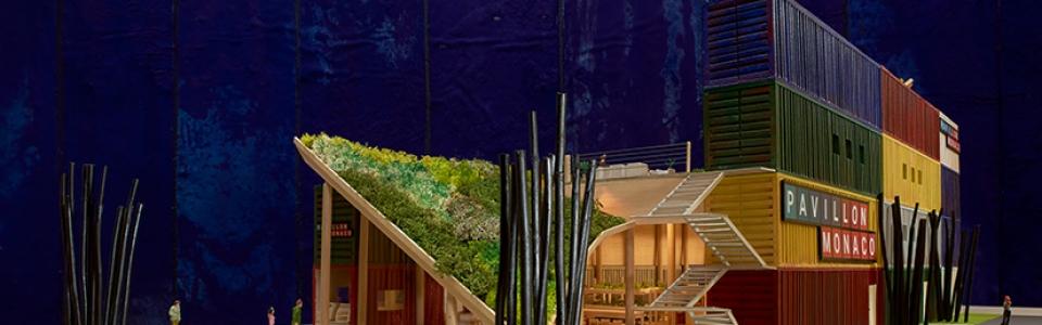 Philippe Pastor Maquette exposition Pavillon Monaco