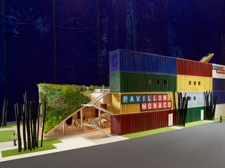 Philippe PASTOR Monaco Pavilion model