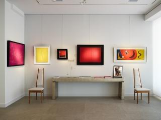 Galerie De Jonckheere vue installation inaugurale